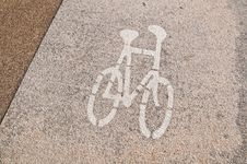 Free Bicycle Lane Stock Image - 18519531