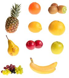 Free Different Fruits Royalty Free Stock Photography - 18519547
