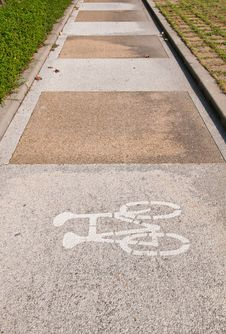 Free Bicycle Lane Stock Photos - 18519553
