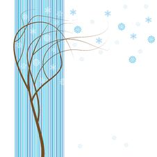 Free Winter Tree. Royalty Free Stock Photo - 18519995