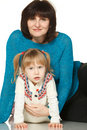 Free Grandmother And Granddaughter Royalty Free Stock Photography - 18522717