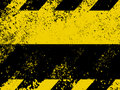 Free A Grungy And Worn Hazard Stripes Texture. EPS 8 Stock Images - 18524574