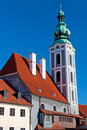 Free Church In Cesky Krumlov Royalty Free Stock Photo - 18524955