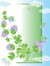 Free Background With Clover Stock Image - 18526801