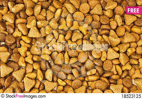 Cat food textures Stock Photo