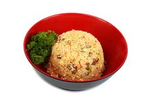 Free Dish Rice With Seafood Royalty Free Stock Image - 18520696