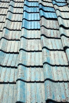 Free Old Roof Tiles Royalty Free Stock Image - 18520746