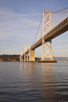 Free Bay Bridge Detail Stock Images - 18520754
