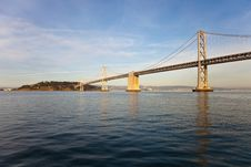 Free Bay Bridge And Treasure Island Stock Image - 18520801