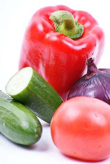 Free Fresh Vegetables Royalty Free Stock Image - 18521196