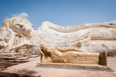 Phra Budhasaiyart Royalty Free Stock Photo