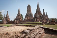 Free Ayutthaya Temple Stock Photo - 18521330