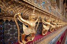 Wat Phra Kaeo Stock Photo
