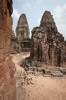 Free Pre Rup Angkor Royalty Free Stock Photography - 18521857