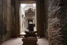 Free Preah Khan Halls Royalty Free Stock Images - 18521949