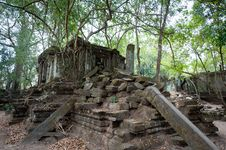 Free Beng Mealea Temple Royalty Free Stock Photography - 18522157