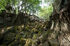 Free Beng Mealea Temple In Angkor Stock Photo - 18522180