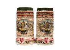Free Two Beer Mugs Stock Photo - 18522560