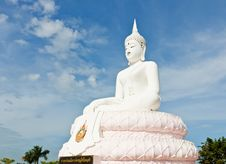 Free White Buddha Statue Royalty Free Stock Image - 18523166