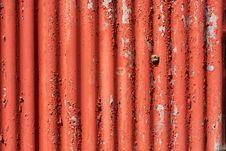Corrugated Iron Royalty Free Stock Photography