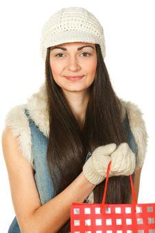 Free Winter Shopping Royalty Free Stock Photo - 18523815
