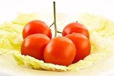 Free Cherry Tomatoes Stock Photography - 18524022