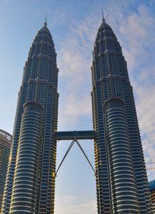 Free Petronas Towers Royalty Free Stock Photo - 18524665