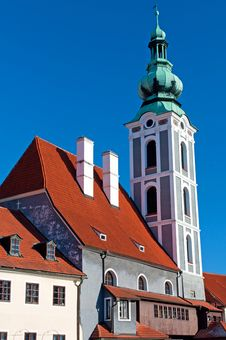 Free Church In Cesky Krumlov Royalty Free Stock Photo - 18524955