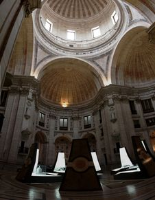 Free Inside The Pantheon Stock Photography - 18525262
