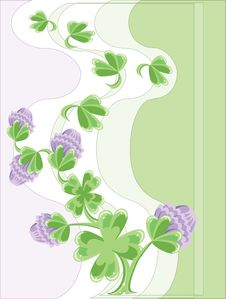 Free Background With Clover Stock Photos - 18526623