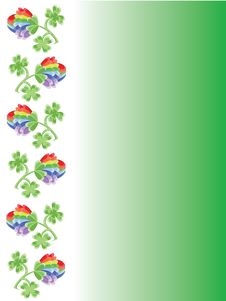 Free Background With Clover Stock Photo - 18526660
