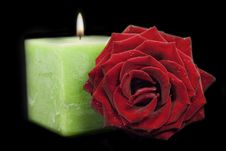 Free Green Candle Stock Images - 18526994