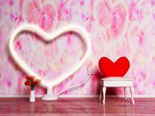 Free A Holiday Romantic Interior Stock Image - 18527281