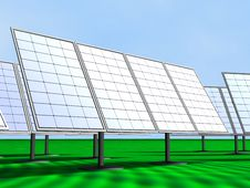 Free Solar Panels Royalty Free Stock Photos - 18527398