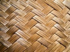 Free Bamboo Weave Pattern Stock Image - 18527411