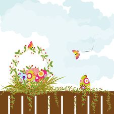 Free Springtime Easter Holiday Wallpaper Stock Photos - 18528833