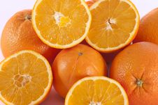 Free Bunch Of Oranges Stock Photo - 18529210