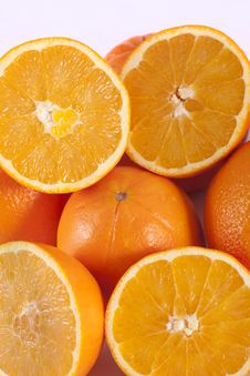Free Bunch Of Oranges Stock Photo - 18529230