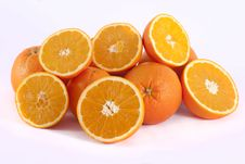 Free Bunch Of Oranges Royalty Free Stock Photos - 18529268