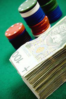 Free Gambling Money Stock Photos - 18529373