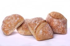 Bunch Of Small Breads Royalty Free Stock Images
