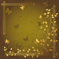 Free Grunge Floral Background. Royalty Free Stock Photography - 18533777