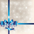 Free Packing For A Gift With A Bow Stock Images - 18537034