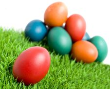 Free Easter Eggs Stock Photography - 18530672