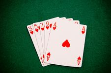 Free Playing Cards Stock Images - 18530674