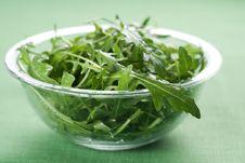 Rucola Fresh Salad Royalty Free Stock Photo