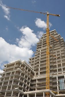 Free High-rise Construction. Stock Photo - 18531660