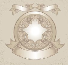 Free Old Emblem Stock Photography - 18532582