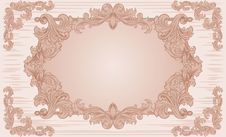 Free Ornate Vintage Frame Stock Images - 18532584