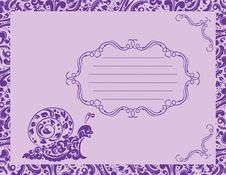 Free Banner And Floral Background Royalty Free Stock Images - 18532659